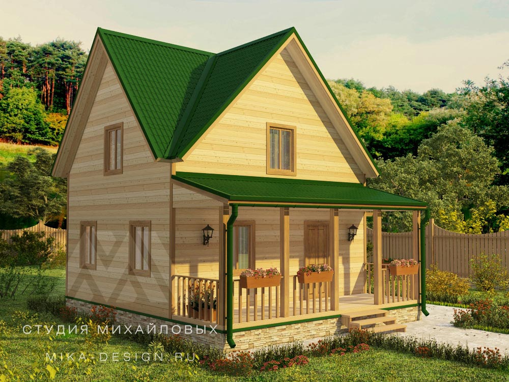 3 d визуализация домов