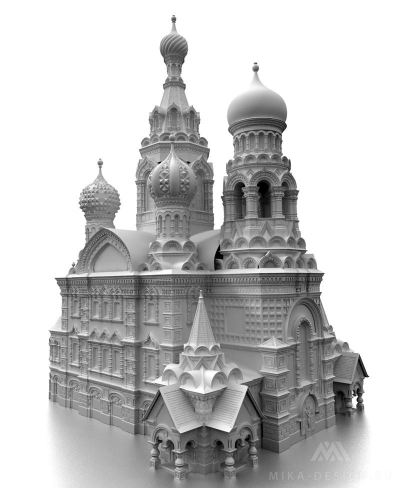 моделирование архитектурных макетов