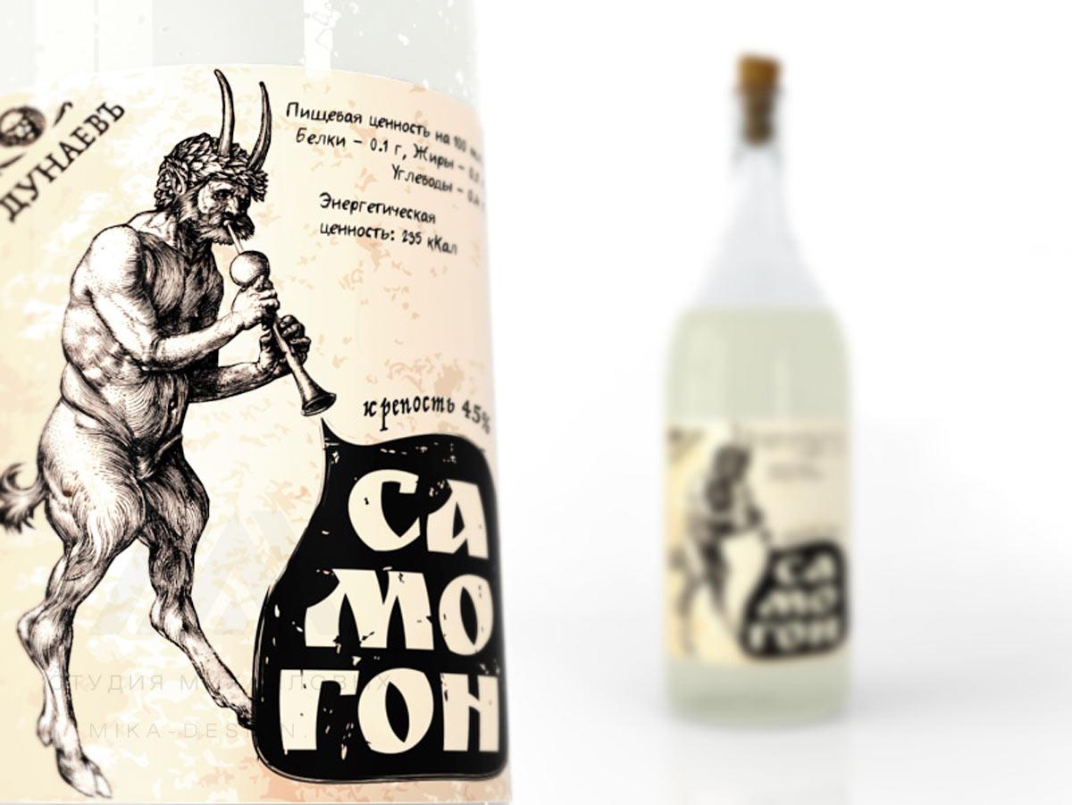 оформление этикетки на бутылку алкоголя фото
