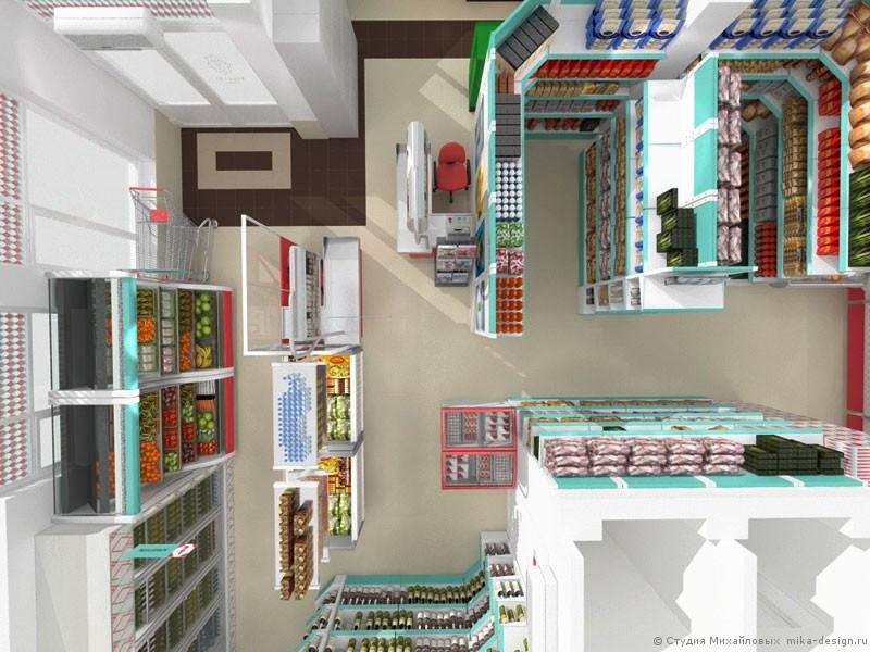 проект супермаркета фото