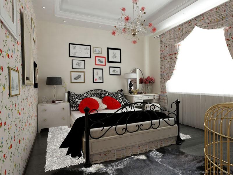 спальня стиль прованс
