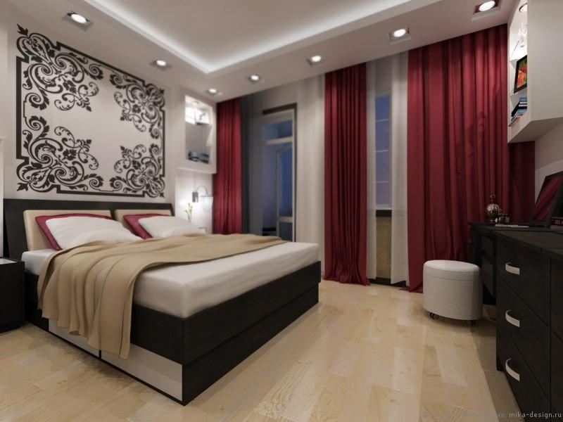 спальня в стиле ар деко фото