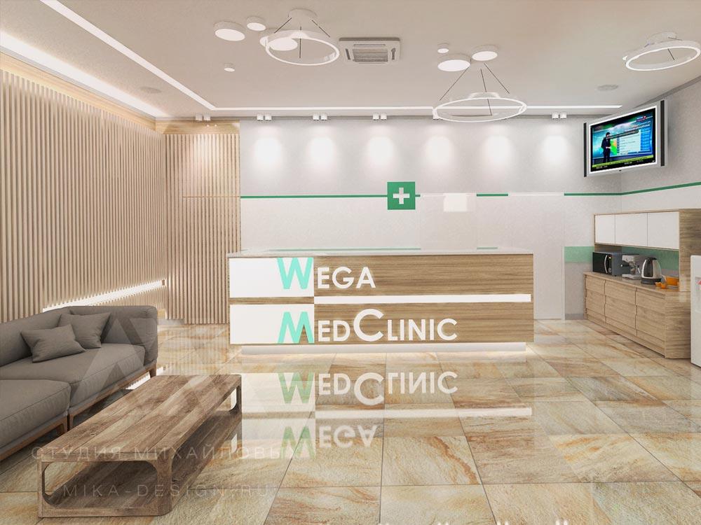 Дизайн проект частной клиники
